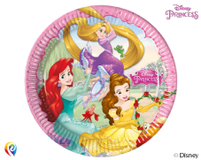 8 Disney Princess Paper Party Plates